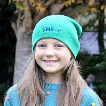 Personalised Knitted Beanie Hat
