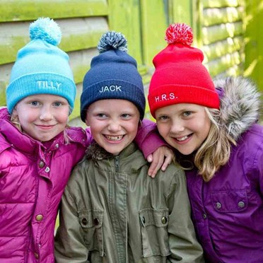 Personalised Child's Bobble Hat