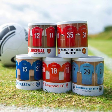 Personalised Football Team Mug