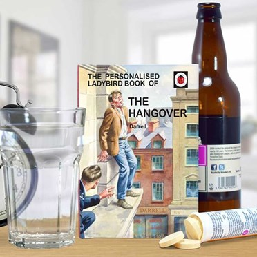 Personalised Ladybird Book of the Hangover - For Him