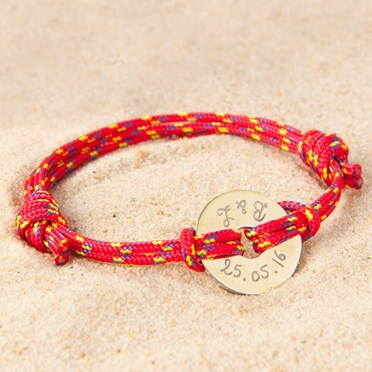 Personalised Nautical Bracelet