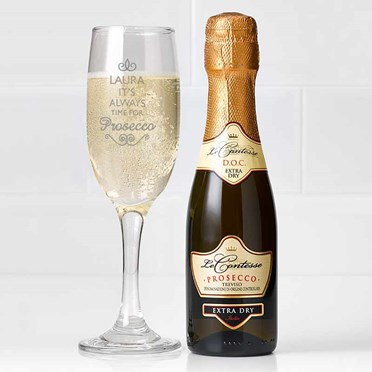 Personalised Prosecco Gift Set