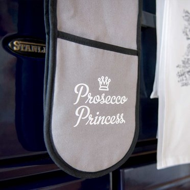 Prosecco Princess Oven Gloves