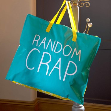 Random Crap Large Storage Bag