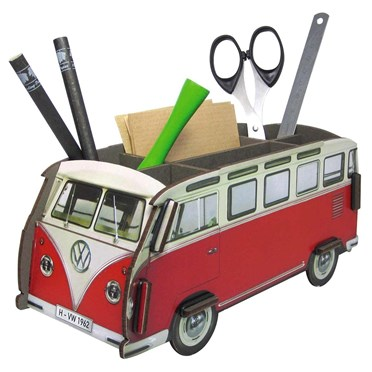 Red VW Camper Pen Box