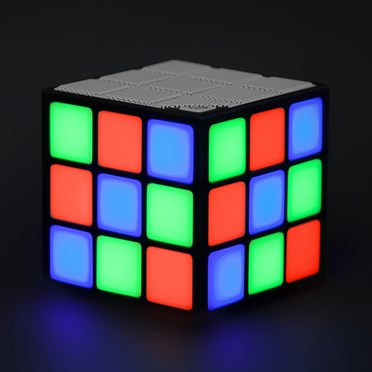 Retro LED Cube Speaker
