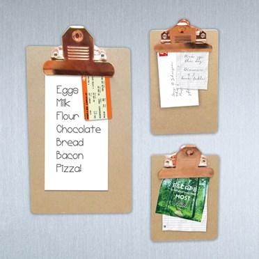Clip Board Fridge Magnets