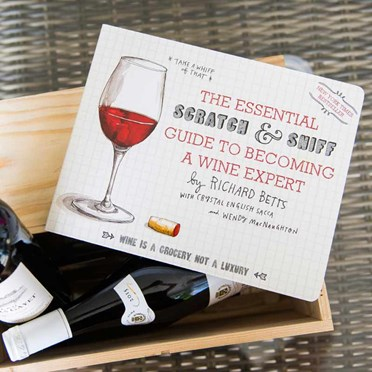 Scratch & Sniff Wine Book