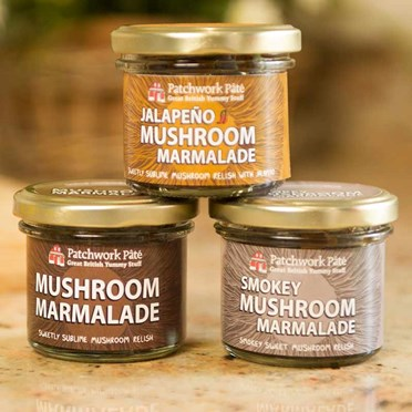 Set of 3 Mushroom Marmalades