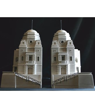 Signed  Dated Model  Twin Towers of Wembley