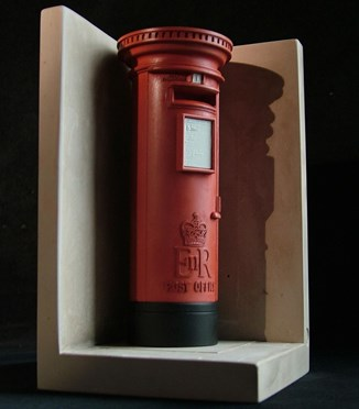Single Bookend  Letter, Pillar or Post Box