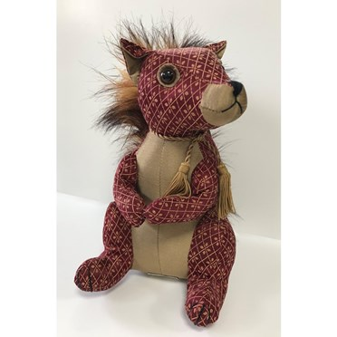 Red Squirrel Doorstop