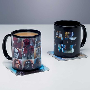 The Last Jedi Star Wars Heat Change Mug