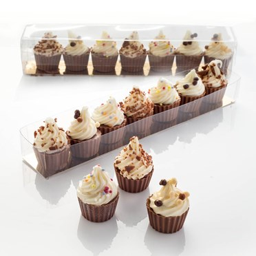 Sweet Mini Chocolate Cupcakes