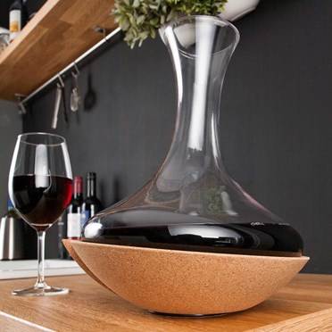 Swirling Wine Carafe