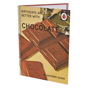 The Chocolate Birthday Card