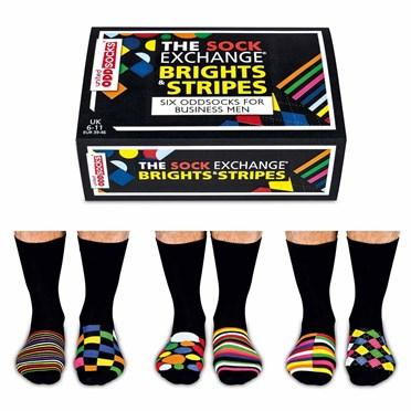 Brights & Stripes Odd Socks - The Sock Exchange
