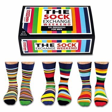 The Sock Exchange Weekend - 6 odd socks for men and teenagers