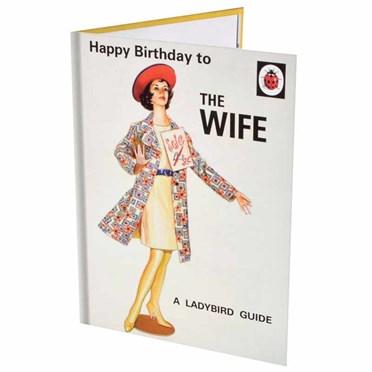 The Wife Birthday Card