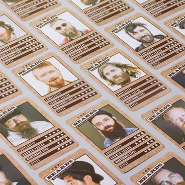 Top Beards Card Game