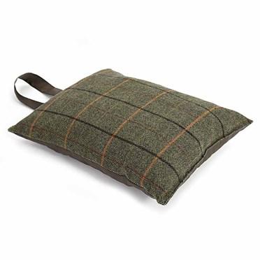 Tweed Garden Kneeler Cushion