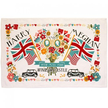 Harry & Meghan Royal Wedding Tea Towel