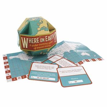 Where On Earth Trivia Game