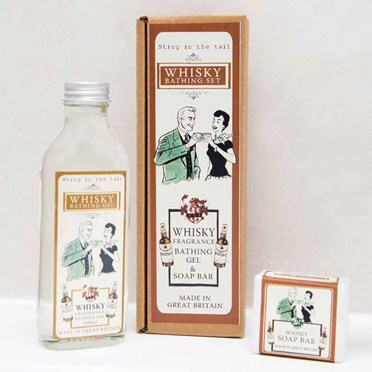 Whisky Bathing Set