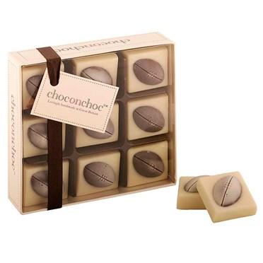 White and Dark Belgian Chocolate Rugby Balls