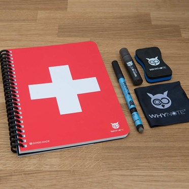 Swiss Army Whiteboard Notebook