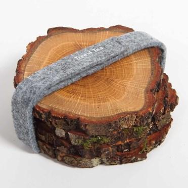 Wooden Oak Coasters
