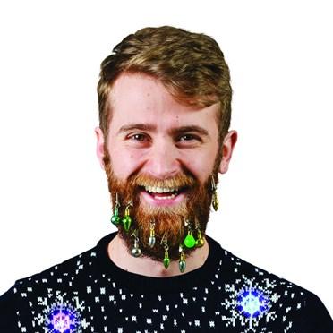 Christmas Beard Decorations