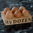 1/2 Dozen Egg Holder