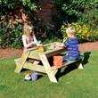 Kids Picnic Bench Sand Pit