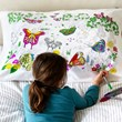 Butterfly Doodle Pillowcase