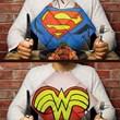DC Comics Superhero Dress Up Napkins
