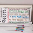 Doodle Pillowcase and Pen Set