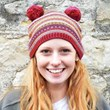 Fair Isle Bobble Hat Beanie