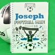 Personalised Football Mad Notebook