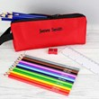 Personalised Pencil Case and Stationery Set