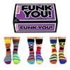 Funk You! Men's Odd Socks | 6 Socks for 3 Odd Pairs!