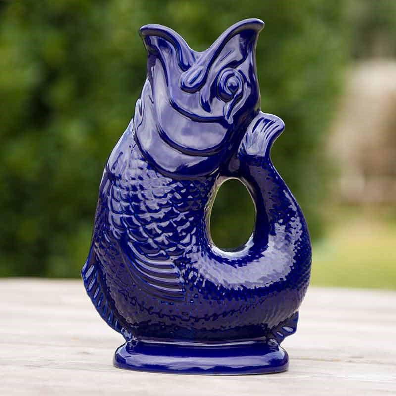 Blue Gluggle Jug Glug Glugging Jug The Present Finder
