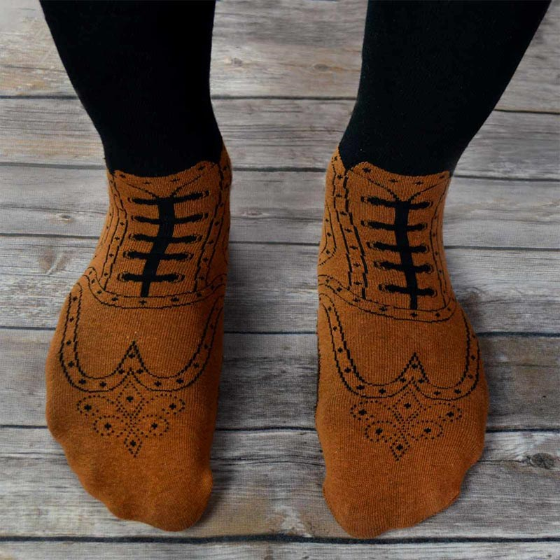 ab845f51035e22 Brogue Socks