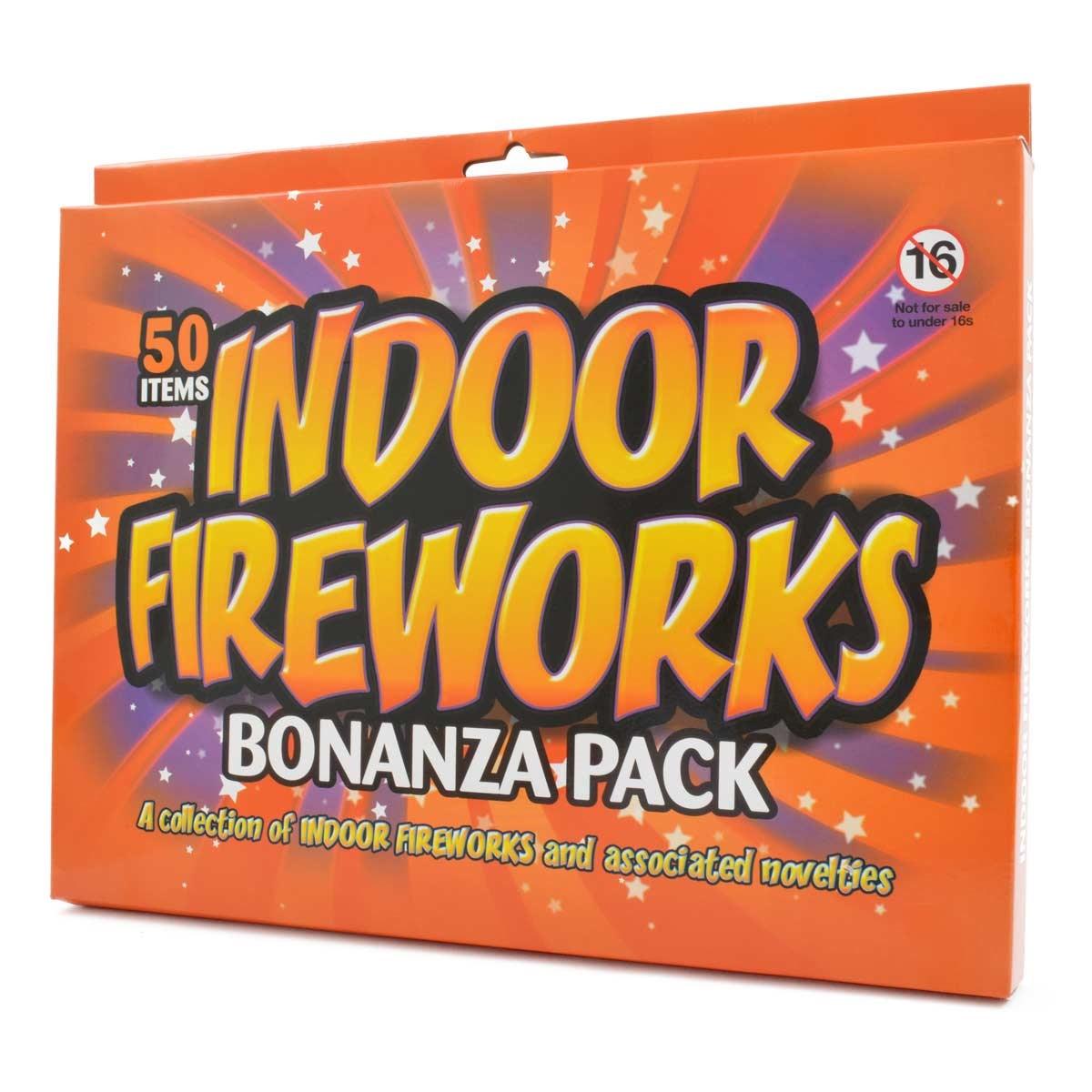 Indoor Fireworks: a set of 50 mini fireworks