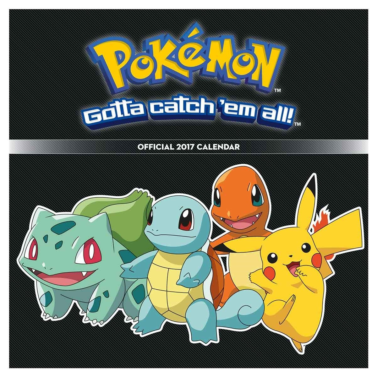 Pokemon Gotta Catch Em All 2017 Calendar 2425