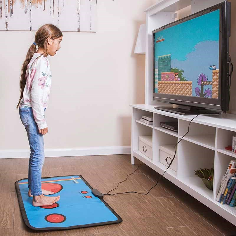 retro gaming mat the present finder. Black Bedroom Furniture Sets. Home Design Ideas