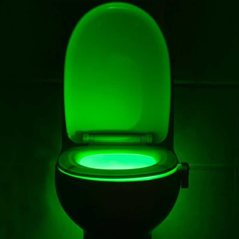 Wonderful IllumiBowl   Toilet Night Light